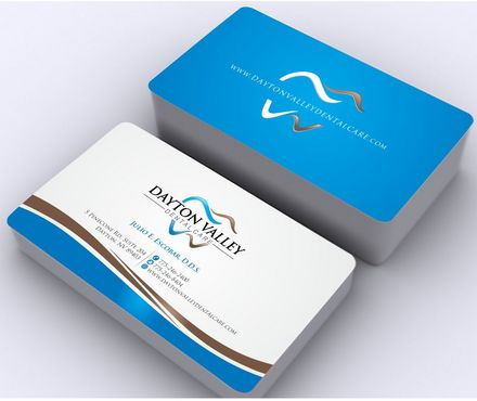 Business card for dental office - Zillion Designs