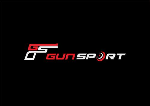 New Guns Designs Initials Forming Gun Logo
