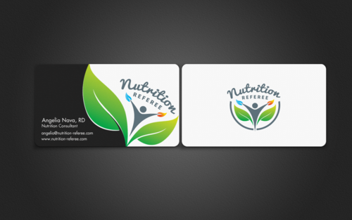 Eye catching business card and stationary for nutrition for Nutrition business cards