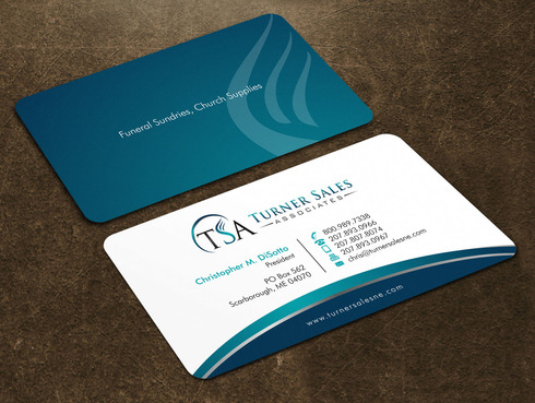 Modern Business Card For Funeral Supply Company By Hiramsupply