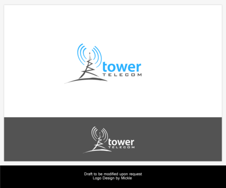Logo for telecom company by Jarviscaines | 443 x 369 png 21kB