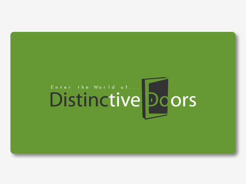 Distinctive Doors A Logo, Monogram, or Icon  Draft # 32 by gugunte