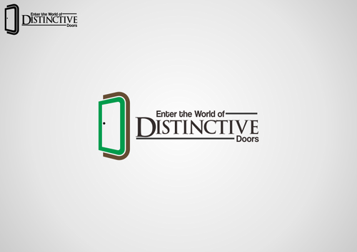 Distinctive Doors A Logo, Monogram, or Icon  Draft # 48 by Sveinn