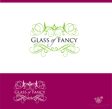 Glass of Fancy A Logo, Monogram, or Icon  Draft # 19 by typography