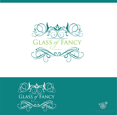 Glass of Fancy A Logo, Monogram, or Icon  Draft # 22 by typography