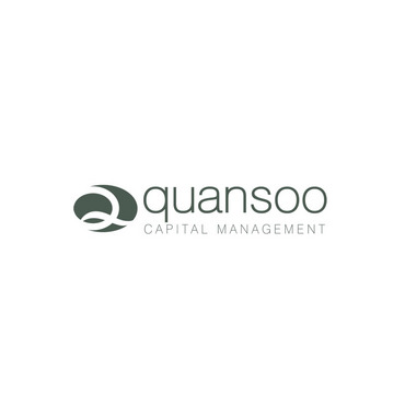Quansoo Capital Management LLC (the LLC can be dropped) or QCM or Q (wt rest of co name) A Logo, Monogram, or Icon  Draft # 220 by Delfina