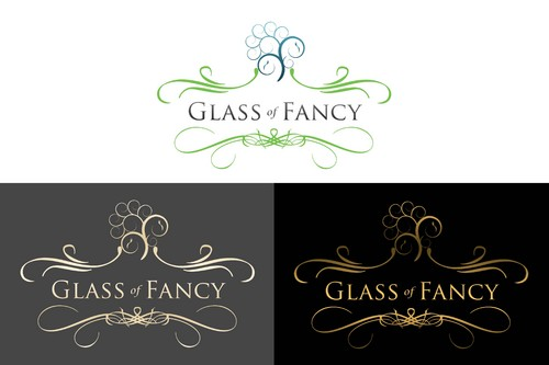 Glass of Fancy A Logo, Monogram, or Icon  Draft # 66 by Whisperer