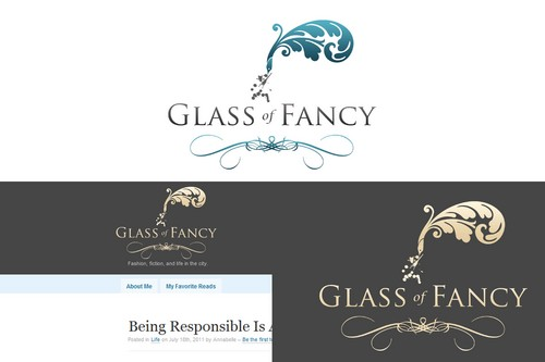 Glass of Fancy A Logo, Monogram, or Icon  Draft # 68 by Whisperer
