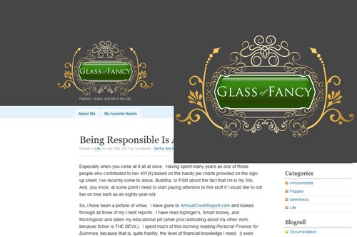 Glass of Fancy A Logo, Monogram, or Icon  Draft # 121 by Whisperer