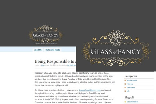 Glass of Fancy A Logo, Monogram, or Icon  Draft # 123 by Whisperer