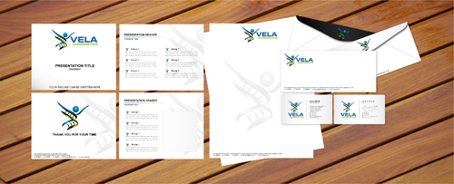Stationary, Envelopes, Business Cards, Powerpoint Templates
