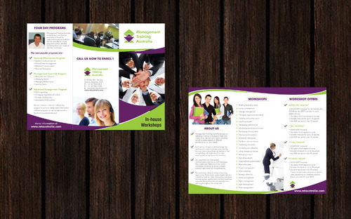 redesign existing brochure and logo