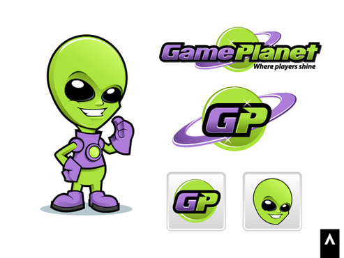 Game Planet  A Logo, Monogram, or Icon  Draft # 42 by Adwork