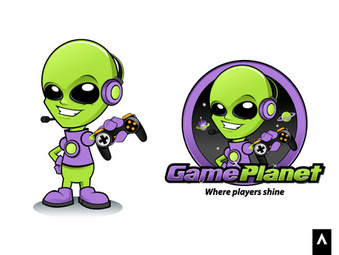 Game Planet  A Logo, Monogram, or Icon  Draft # 50 by Adwork