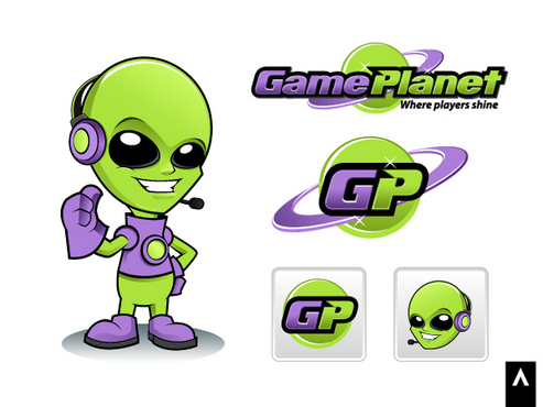 Game Planet  A Logo, Monogram, or Icon  Draft # 57 by Adwork