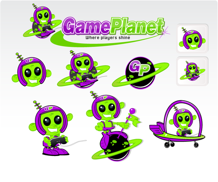 Game Planet  A Logo, Monogram, or Icon  Draft # 63 by hatter