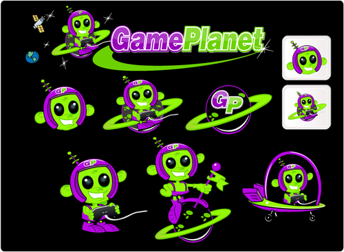 Game Planet  A Logo, Monogram, or Icon  Draft # 64 by hatter