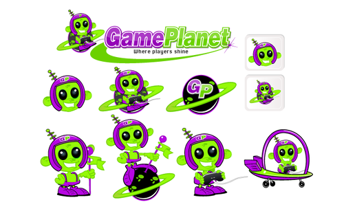 Game Planet  A Logo, Monogram, or Icon  Draft # 66 by hatter
