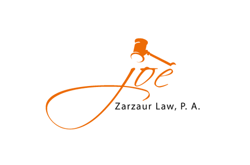 Joe (lower case cursive) or zarzaur law pa My initials are jaz.