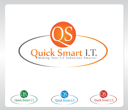 Quick Smart IT Business Cards and Stationery  Draft # 23 by GenBullzzzz