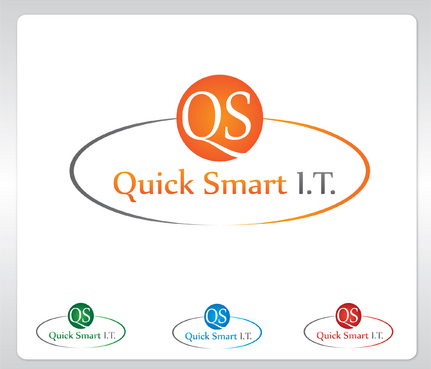 Quick Smart IT Business Cards and Stationery  Draft # 24 by GenBullzzzz