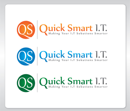 Quick Smart IT Business Cards and Stationery  Draft # 25 by GenBullzzzz