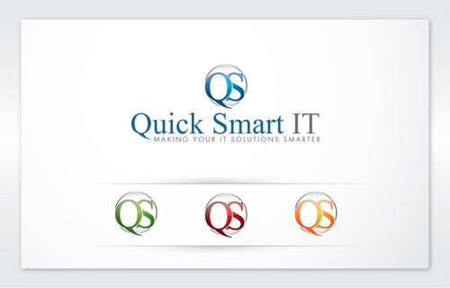 Quick Smart IT Business Cards and Stationery  Draft # 47 by cArnn