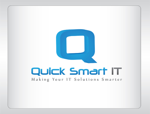 Quick Smart IT Business Cards and Stationery  Draft # 61 by GenBullzzzz