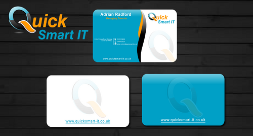 Quick Smart IT Business Cards and Stationery  Draft # 63 by shaali06