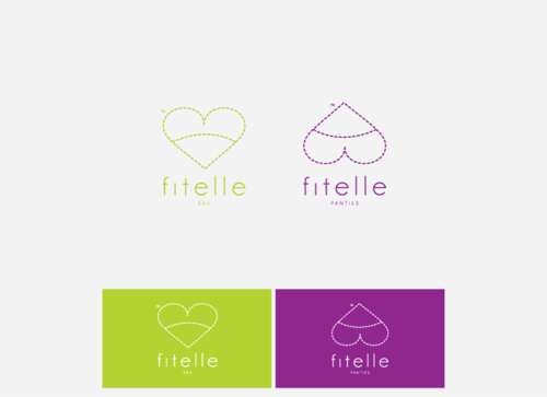 fitelle A Logo, Monogram, or Icon  Draft # 24 by suvuic
