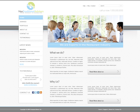 a consulting co. in the restaurant industry