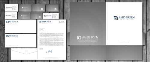 Andersen Law Firm, PLLC Business Cards/Letterhead/Envelopes