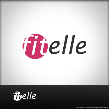 fitelle A Logo, Monogram, or Icon  Draft # 43 by AntonioPascual