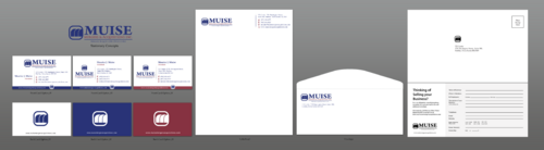 LAYOUT BUSINESS CARD AND LETTERHEAD