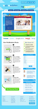 doctor website design for medical marketing company Blog Design Template Winning Design by norven