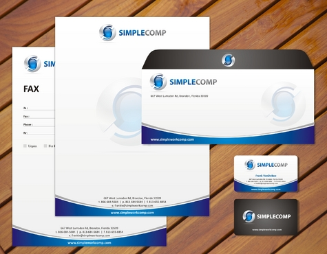 Letterhead/Stationary Business Cards and Stationery  Draft # 74 by smartinfo