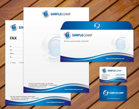 Letterhead/Stationary Business Cards and Stationery  Draft # 76 by smartinfo