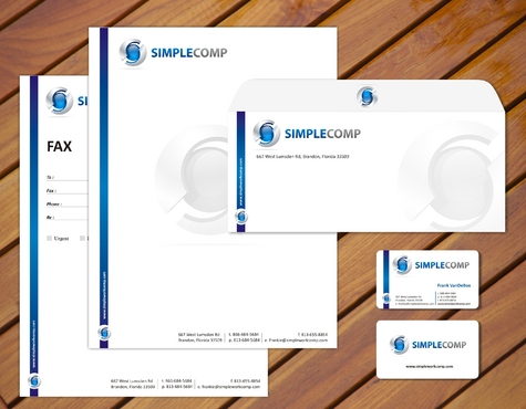 Letterhead/Stationary Business Cards and Stationery  Draft # 77 by smartinfo