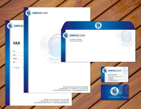 Letterhead/Stationary Business Cards and Stationery  Draft # 79 by smartinfo