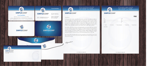 Letterhead/Stationary Business Cards and Stationery  Draft # 81 by Achiver