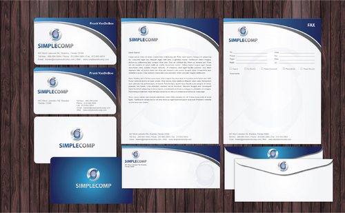 Letterhead/Stationary Business Cards and Stationery  Draft # 83 by Achiver