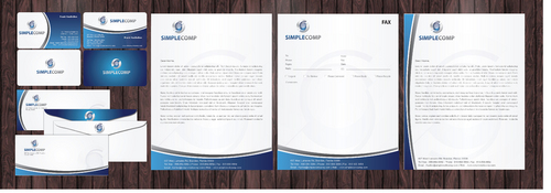 Letterhead/Stationary Business Cards and Stationery  Draft # 84 by Achiver