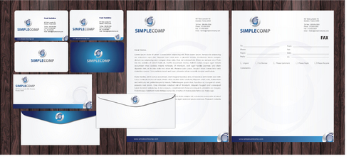 Letterhead/Stationary Business Cards and Stationery  Draft # 85 by Achiver
