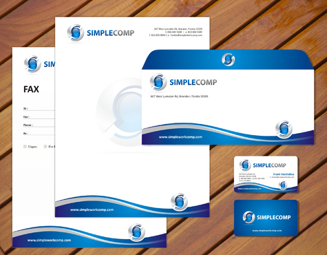 Letterhead/Stationary Business Cards and Stationery  Draft # 88 by smartinfo