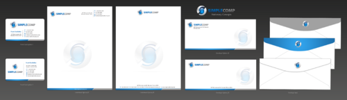 Letterhead/Stationary Business Cards and Stationery  Draft # 92 by einsanimation