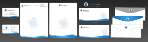 Letterhead/Stationary Business Cards and Stationery  Draft # 93 by einsanimation