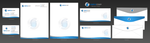 Letterhead/Stationary Business Cards and Stationery  Draft # 94 by einsanimation