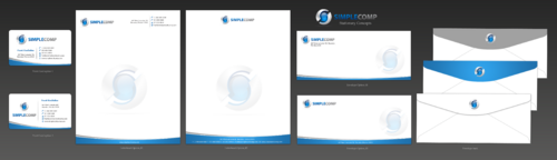 Letterhead/Stationary Business Cards and Stationery  Draft # 95 by einsanimation