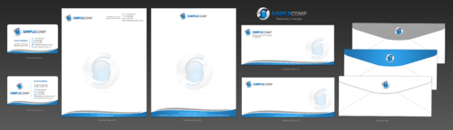 Letterhead/Stationary Business Cards and Stationery  Draft # 99 by einsanimation