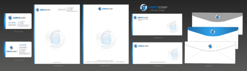 Letterhead/Stationary Business Cards and Stationery  Draft # 98 by einsanimation